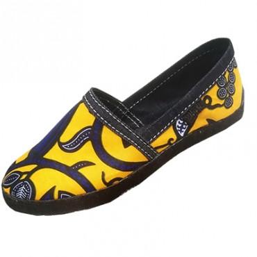 Classic Ankara shoes of good quality