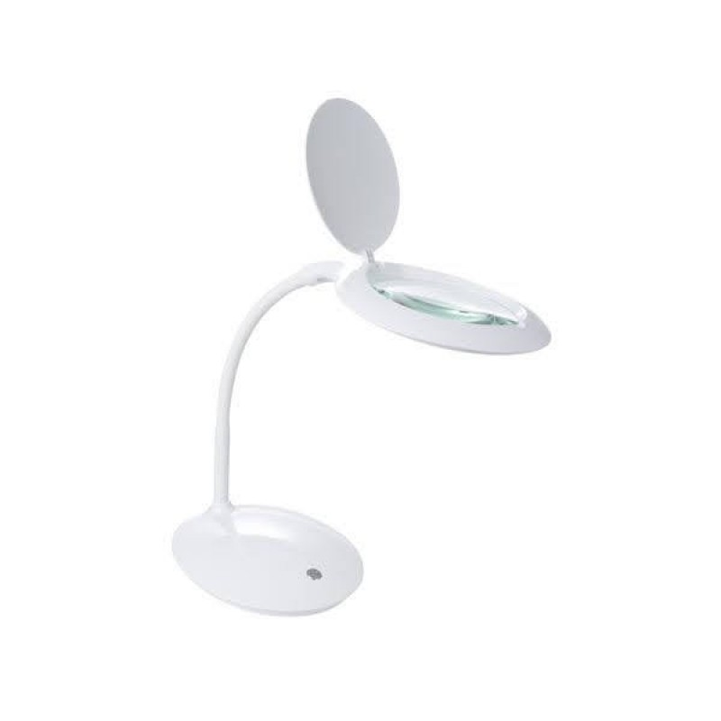 Led Magnifier Desk Lamp
