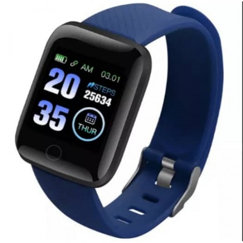 Smartwatch For Apple IOS Android Electronics Smart Fitness Tracker With Silicone Strap Sport Watches