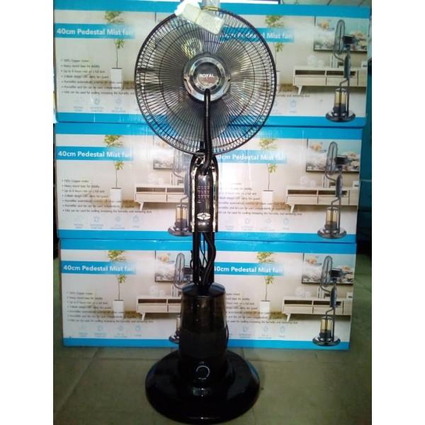 CCB21052001 - Royal Super Quality Pedestal Mist Fan - 40cm