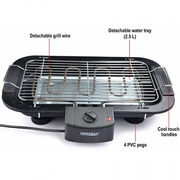 EST11052002 - Electric Barbecue Grill ,electric  barbecue for indoor use, easy to install