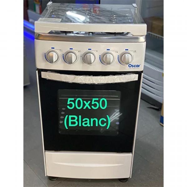 EST18052002 - Gas cooker - 4 F 20 ″ OSCAR white -OCS-C50W - 4 burners 50 * 50 cm