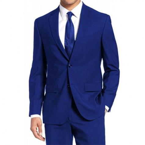 HLP10052009 - Blue Business Suits for MEN of good quality