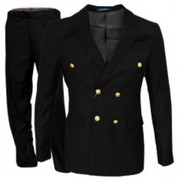 HLP10052012 - Black Business Suits for MEN of good quality