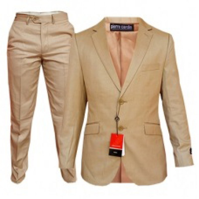 HLP10052018 - Brown Business Suits for MEN of good quality