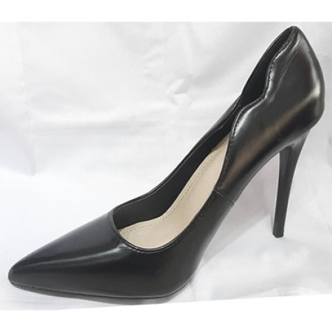 KHF28052001 - Black Heels for Women of rated quality